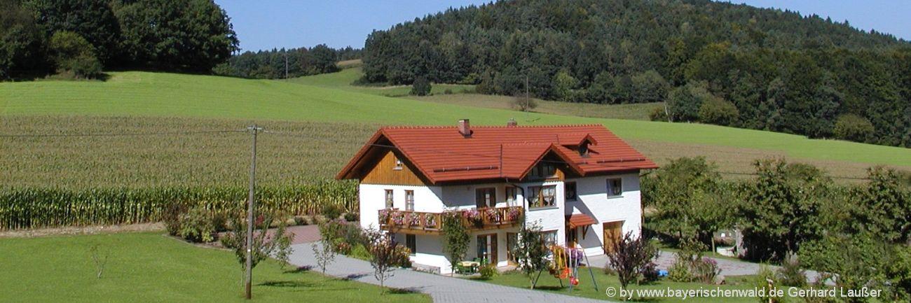 Ferienhaus Angebote im Bayerischen Wald