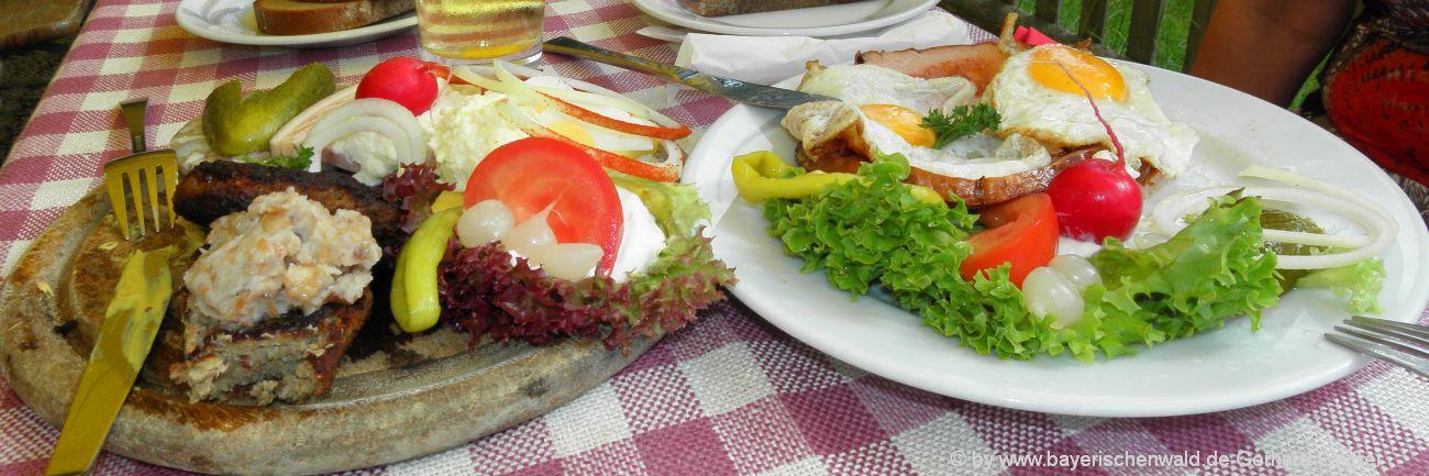 Bayerischer Wald Gasthöfe und Gasthäuser zum übernachten und essen