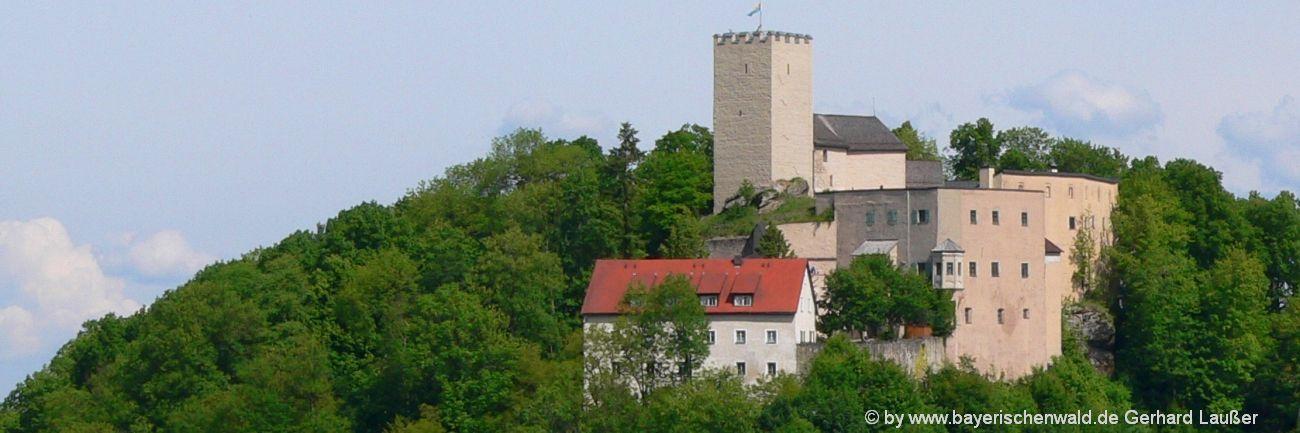 bayerischer-wald-ausflugsziele-burg-falkenstein-sehenswürdigkeiten