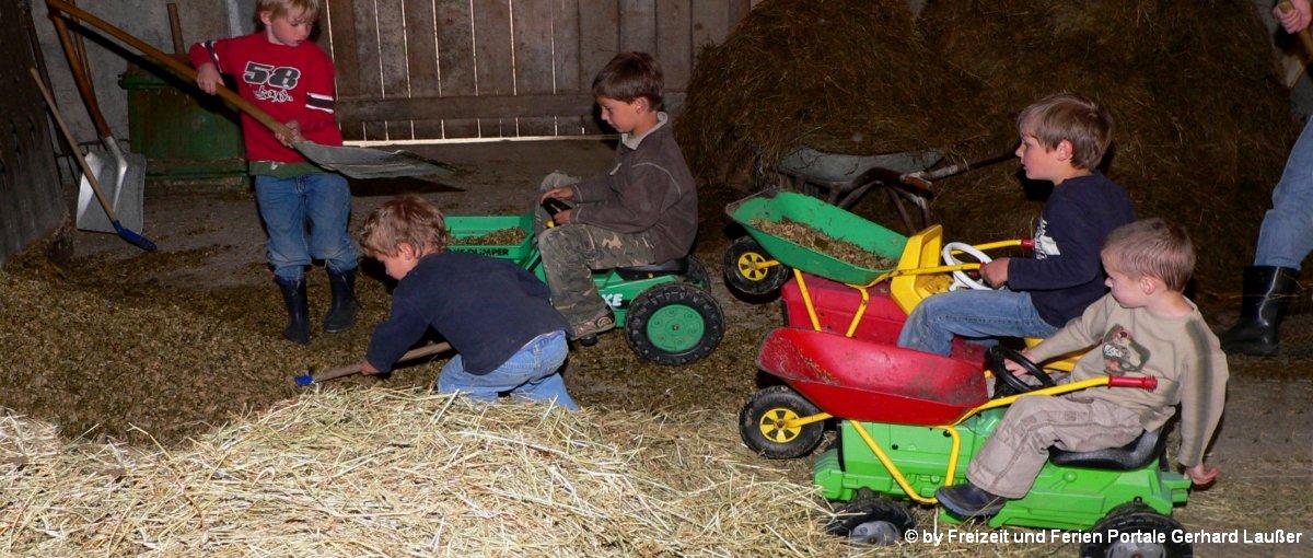 Bayerischer Wald Bauernhofurlaub mit Kindern