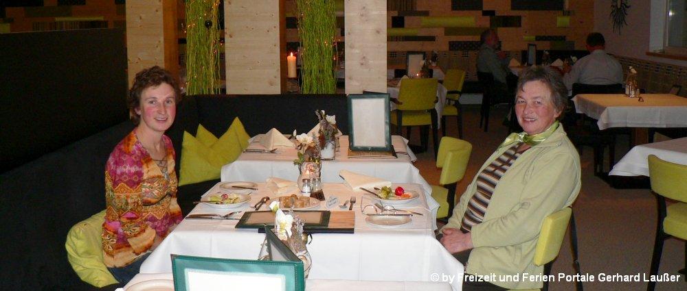 Hotels im Bayerischen Wald Essen im Restaurant