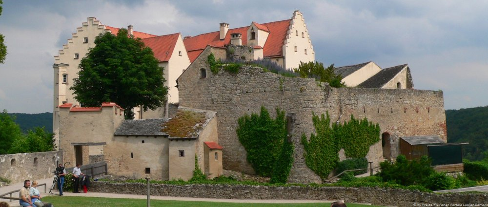 Sehenswürdigkeiten in Bayern Schloss Rosenburg im Altmühltal