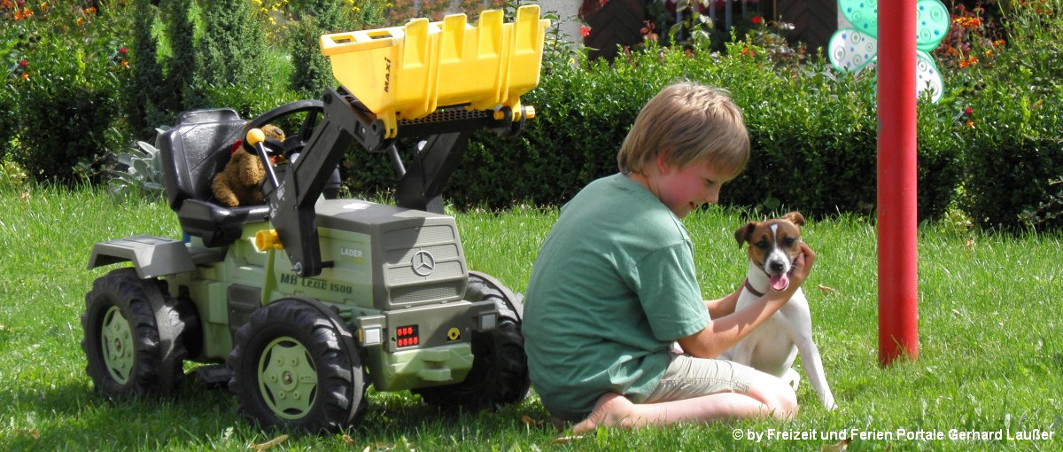 Urlaub auf dem Bauernhof im Bayerischen Wald mit Kindern und Hund